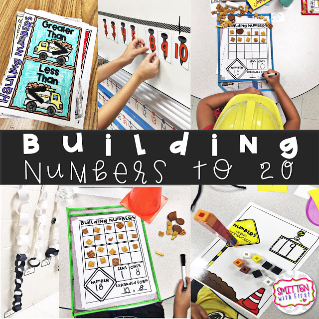 Building Numbers FREEBIES!!!