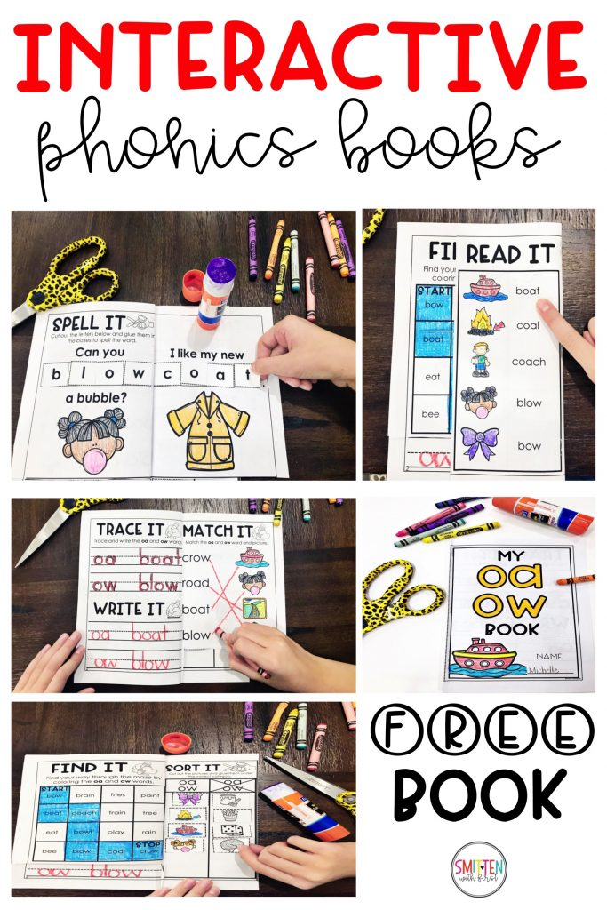 interactive phonics activity books