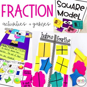 Fraction activities, games, and read alouds for 1st and 2nd ...