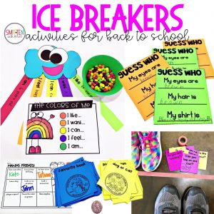 Back to School Activities and Games for 1st, 2nd, and 3rd grade